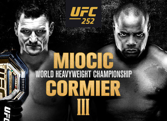 The Trilogy Ends at UFC 252 on 8/15