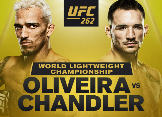 UFC 262: A new champion will be crowned on 5/15