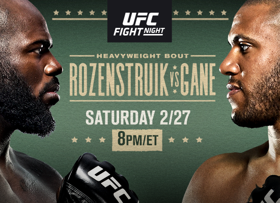 UFC Fight Night: Heavyweight Finishers Clash on 2/27