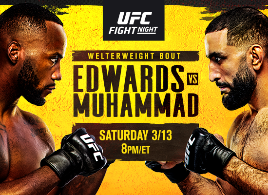 UFC Fight Night: Rocky vs Remember The Name el 3/13