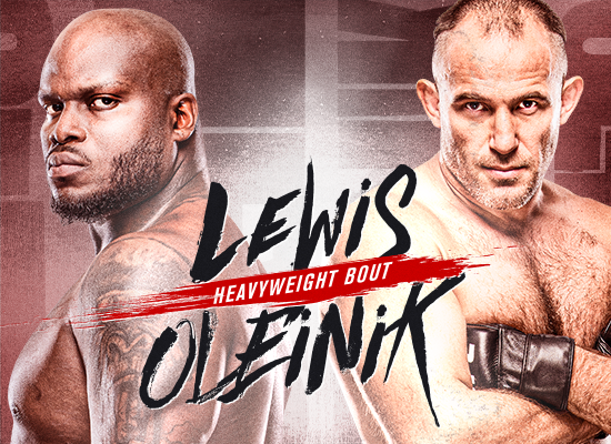 Heavyweights Clash at Lewis vs Oleinik on 8/8