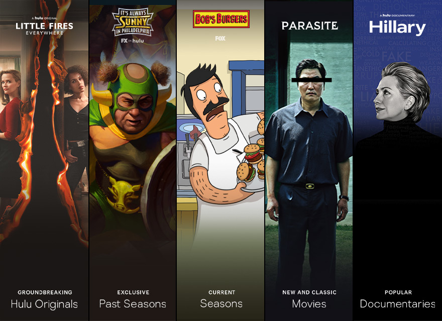 Thousands of shows and movies with Hulu