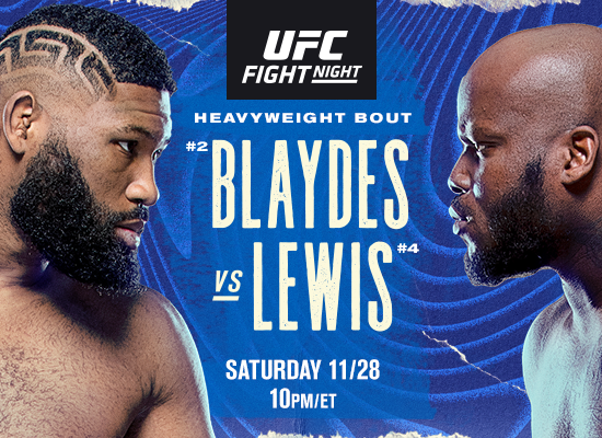 UFC Fight Night: Razor vs The Black Beast on 11/28