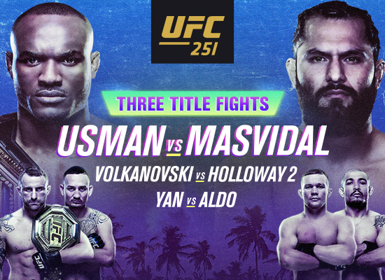 Catch Every Moment of UFC 251 on Fight Island