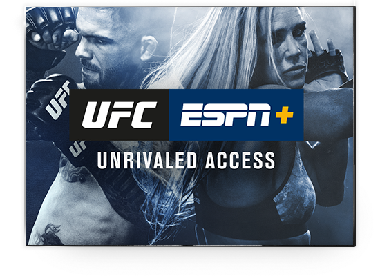 Stream Exclusive UFC Coverage